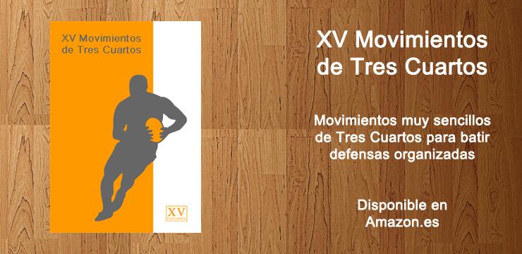 Libros de rugby | Entrenamiento de rugby | XV Ediciones